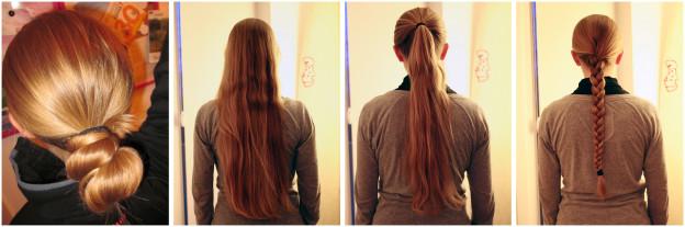 Bye Bye (much too) long hair!