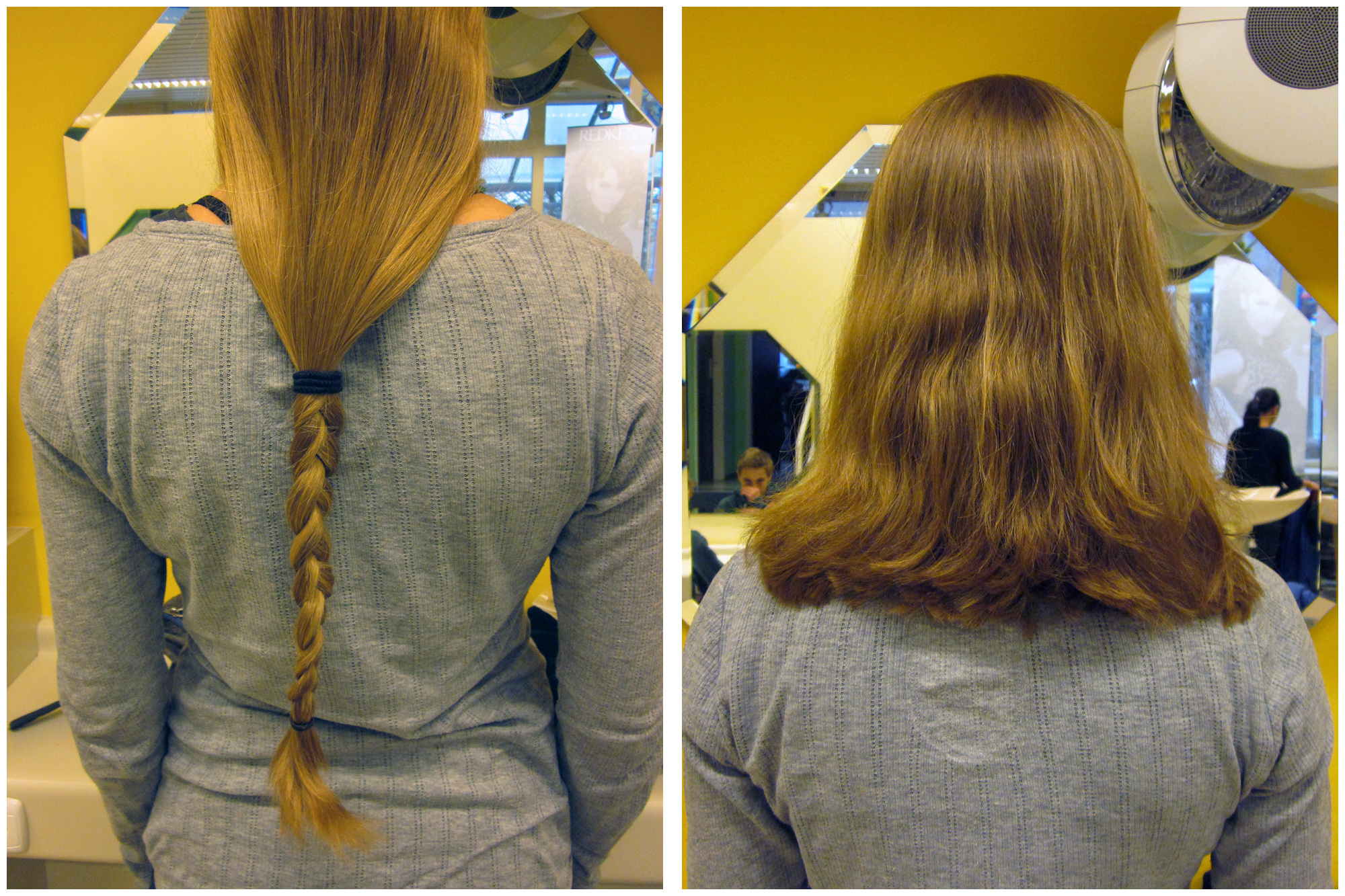 Bye Bye Much Too Long Hair Schatzi