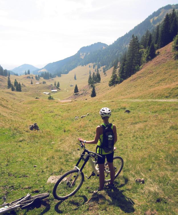 Biking near Rosenheim