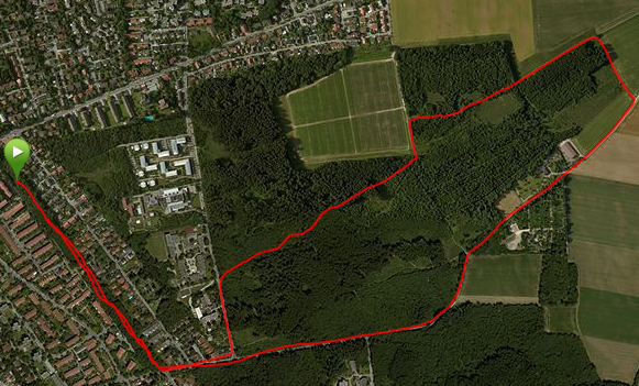 First run 2014 – 5km