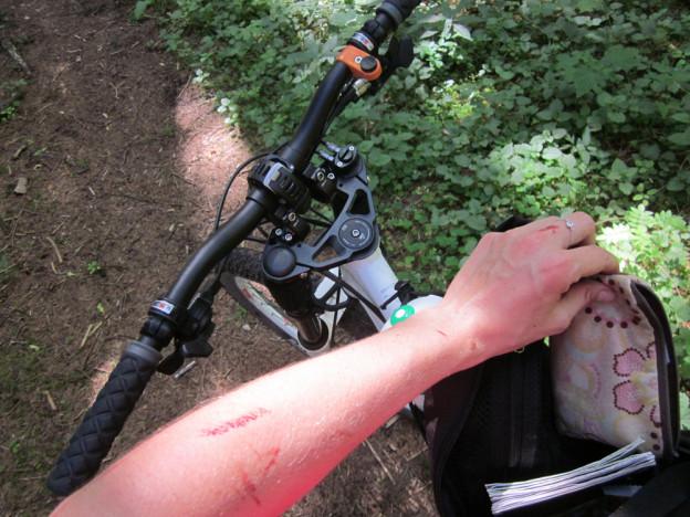 When biking with my dad…