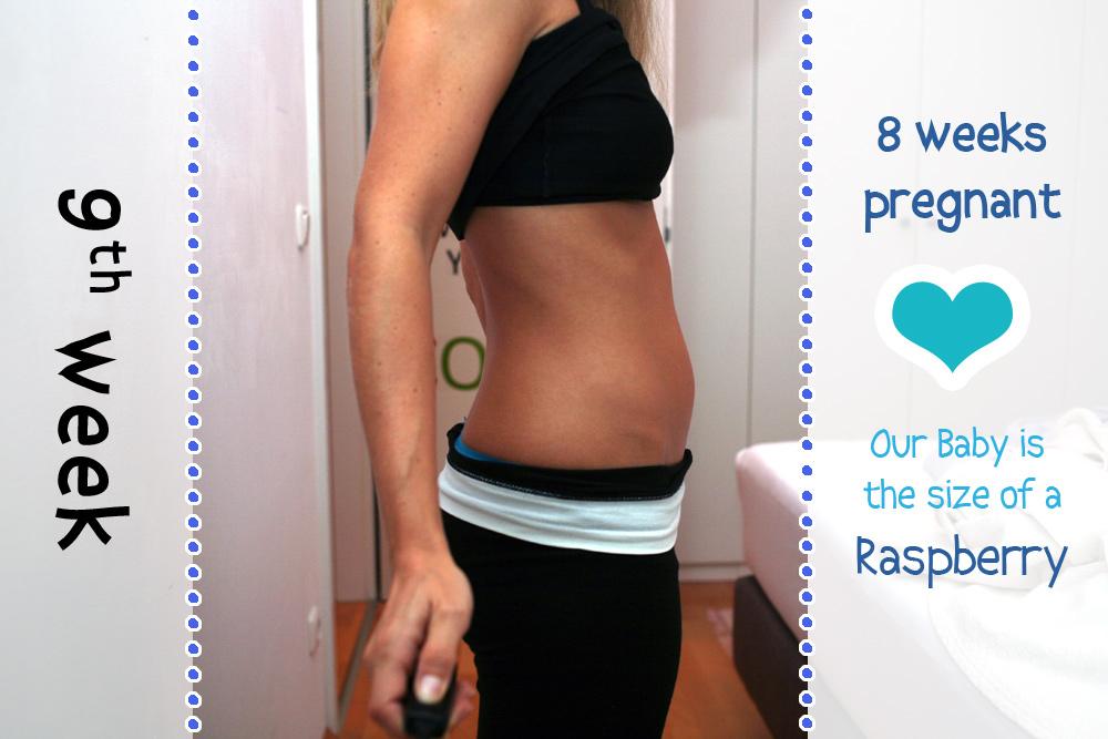 Baby Bump Week 9 - 8w0d