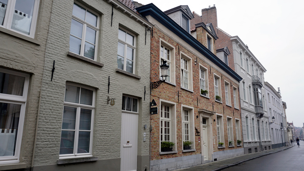 Our B&B in Bruges, Belgium
