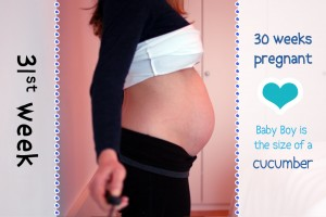 Baby Bump Week 31 - 30w6d