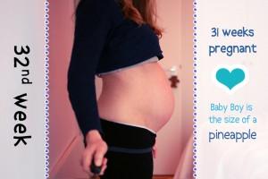Baby Bump Week 32 - 31w6d