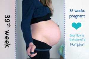 Baby Bump Week 39 - 38w6d