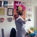 Quinn 1 week old